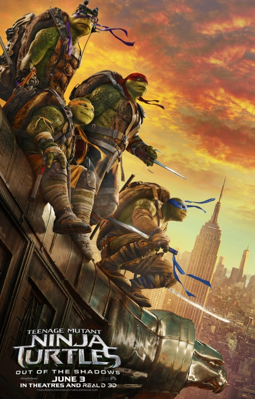 Movie Review: Teenage Mutant Ninja Turtles: Out of the Shadows   Muvie ...