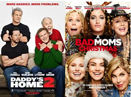 A Bad Moms Christmas Movie Poster.A Bad Moms Christmas Movie Geek And Proud